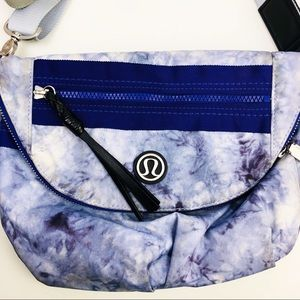 Lululemon Festival Bag Crossbody Purple Tie Dye